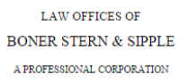 Boner, Stern & Sipple A Professional Corporation