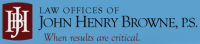 Law Offices of John Henry Browne, P.S.