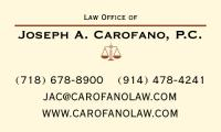 Law Office of Joseph A. Carofano, P.C.