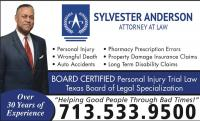 Sylvester Anderson, Attorney at Law